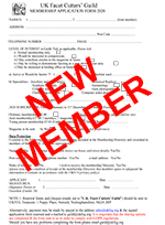 New Member Application Form
