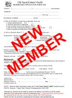 New Member Application Form